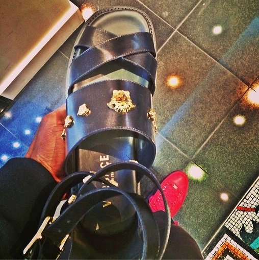 Chad-johnson-versace-gladiator-sandals-0214-1