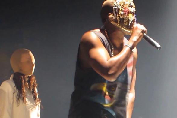 Kanye West-Yeezus Tour-1