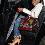 NeNe Leakes coming out of 'Watch What Happens Live' in SoHo