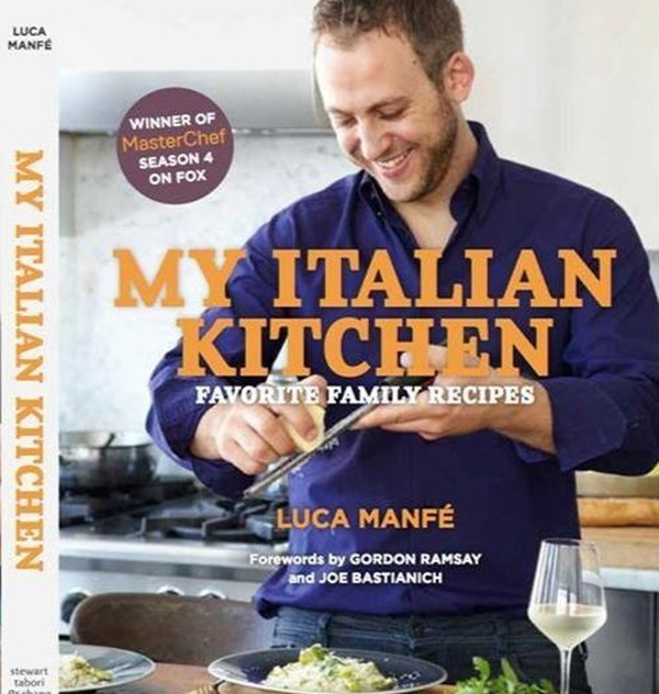 MasterChef 4 Winner Luca's Cook Book Out Now