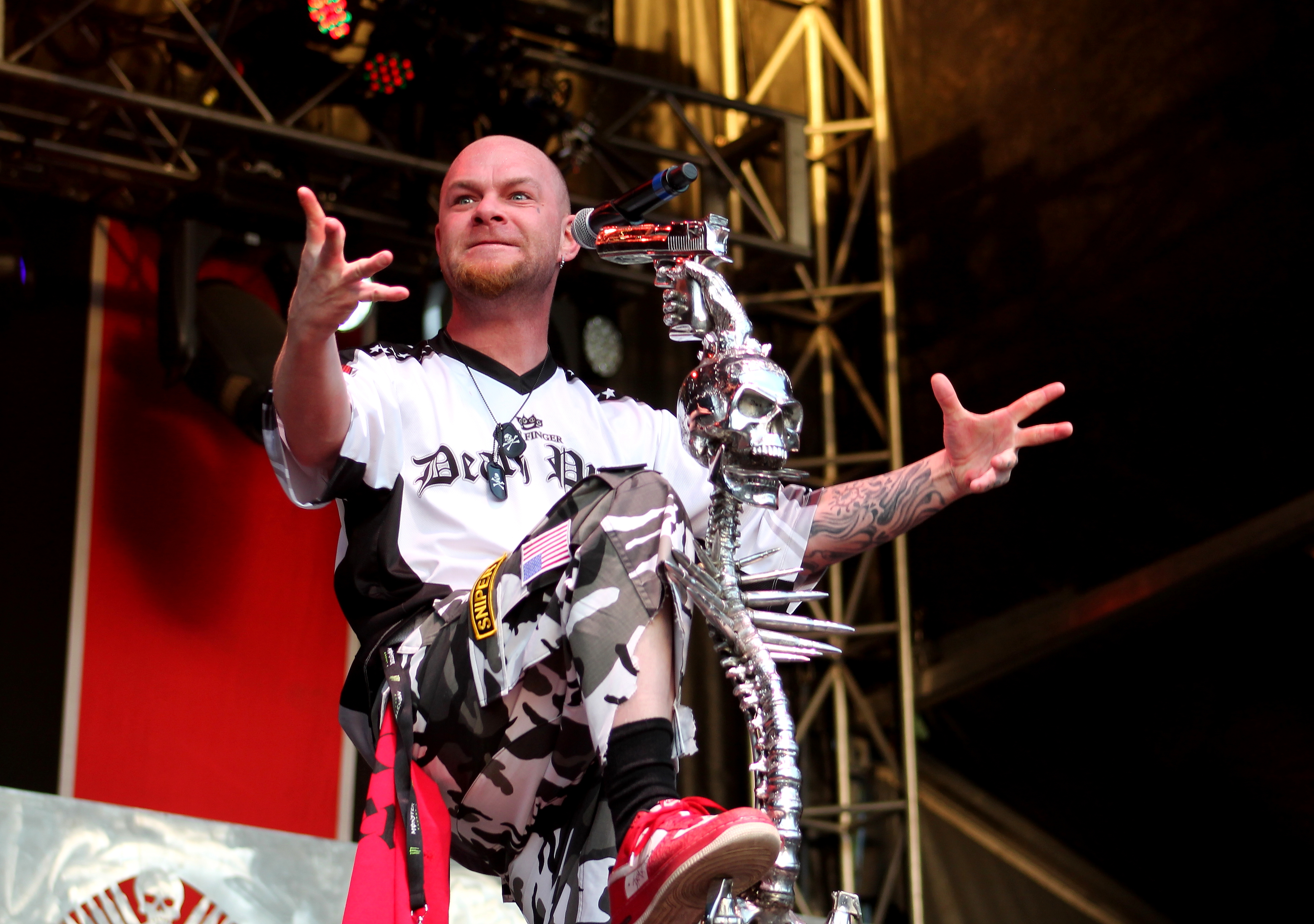 Five Finger Death Punch Is Currently On Tour And Coming To A City Near You
