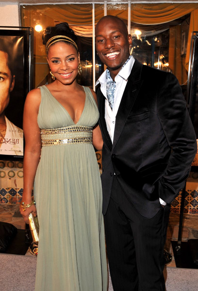 Sanaa Lathan and ex Boyfriend Tyrese