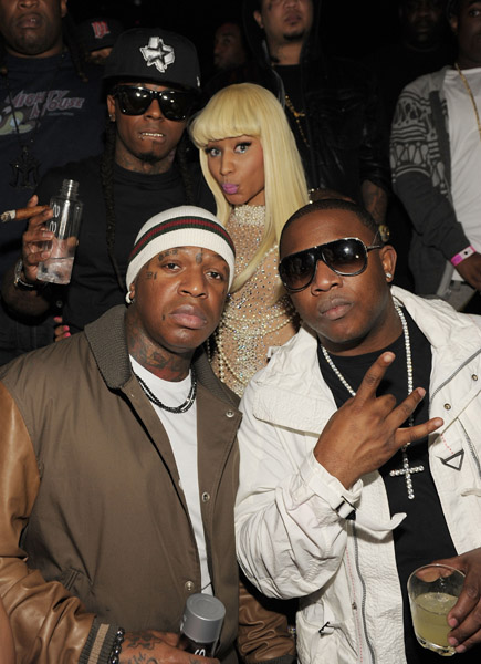 lil-wayne-nicki-minaj-mack-maine-and-baby