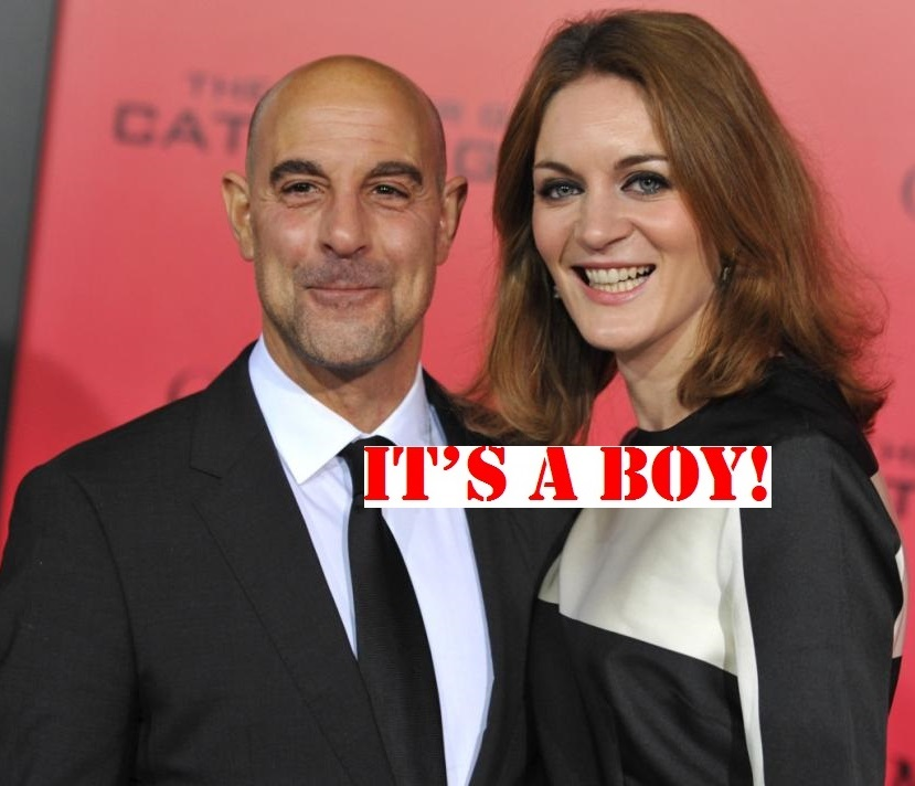 Stanley Tucci and Felicity Blunt-welcome-baby-boy-0131-2