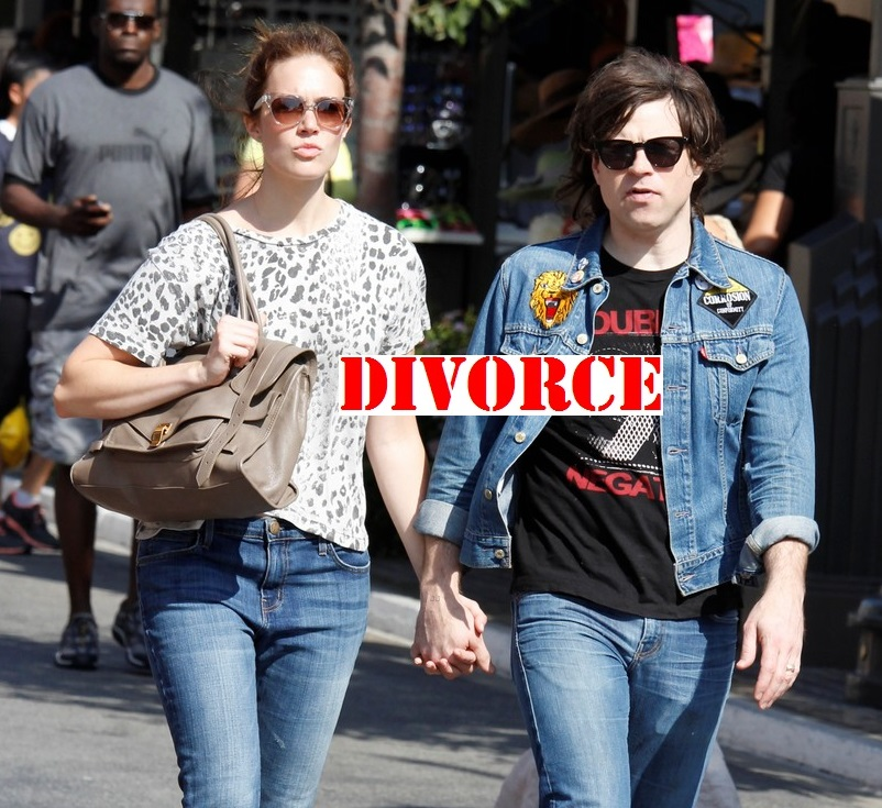 Mandy and Ryan before their divorce
