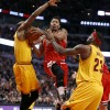 Derrick Rose Is Back And Beating Lebron
