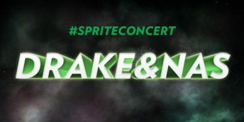 Drake And Nas Perform At Sprite Event In NYC