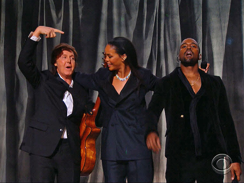 Rihanna, Kanye West & Paul McCartney Grammy Performance