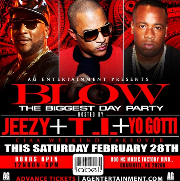 T.I. and Jeezy NC Party Ends In GUNFIRE-0228-1