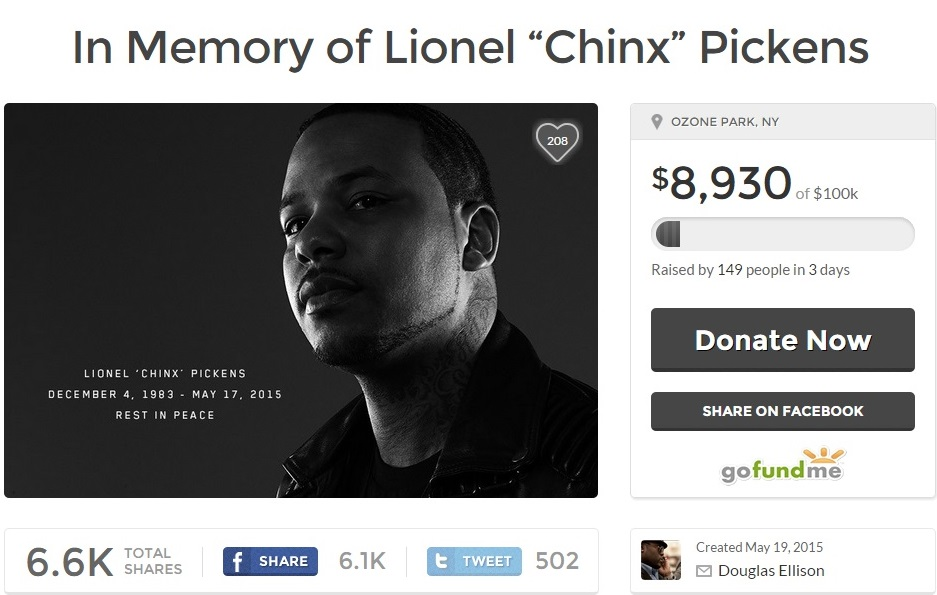 Chinx Family Sets Up GoFundMe Account For Funeral-0522-2