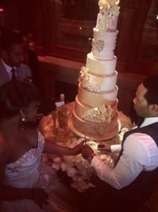 Yandy Smith Harris Mendeecees Cutting Cake Love Hip Hop Live The Wedding 0525 1