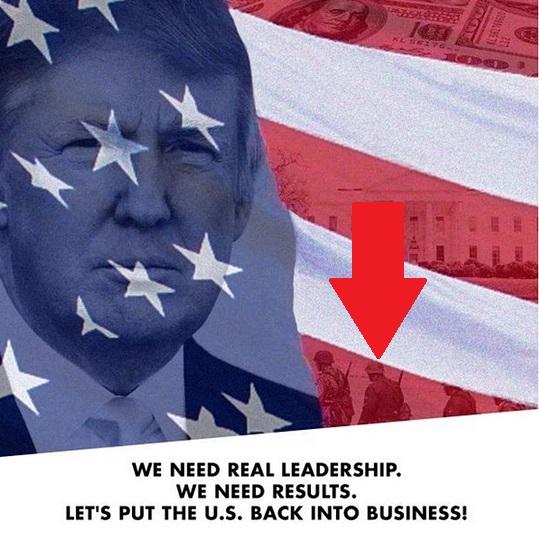 donald-trump-nazi-soldiers-tweet-top-republican-polls-0715-7