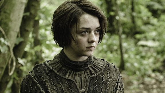 Game Of Thrones, Series 3.EP302..Featuring Maisie Williams as Arya Stark..? HBO Enterprises