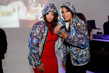 Rosario Dawson-Dascha Polanco at Courvoisier's Exceptional Journey Event in NYC Last Night-1112-2