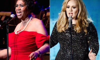 Aretha Franklin comes for Adele and longevity