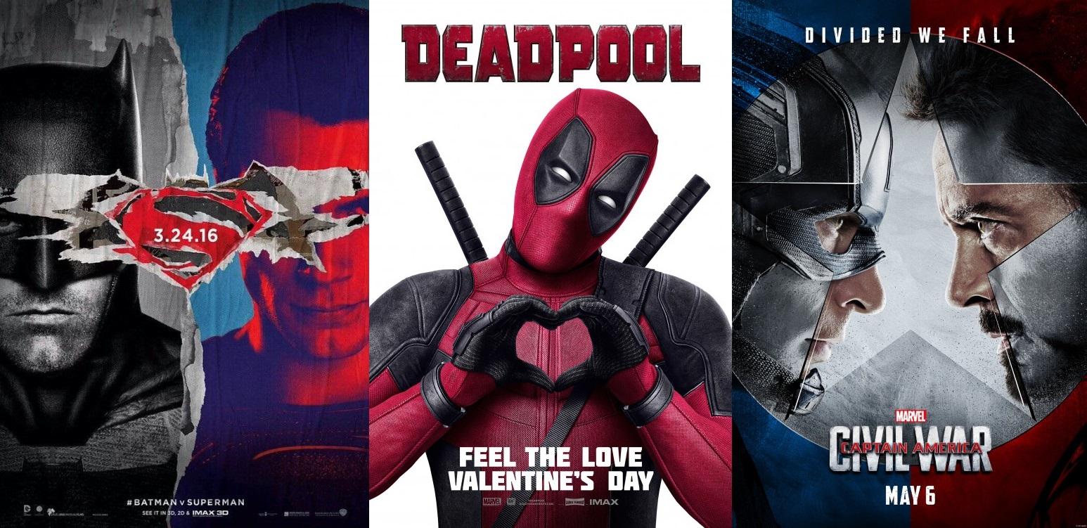 DC Marvel Superhero movies release dates 2015-2017 | Marvel Thailand ...