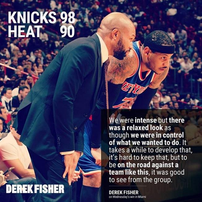 The Knicks FIRED Derek Fisher So Matt Barnes Weighs In
