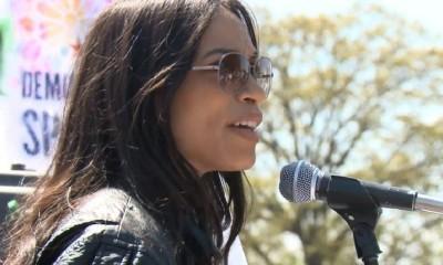 Rosario Dawson Arrested at D.C. Democracy Spring Rally