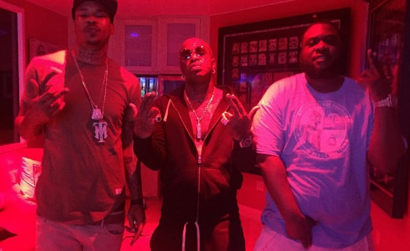 AR-AB and Compton Menace Sign To Cash Money