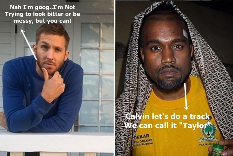 Calvin Harris Says NO WAY to Kanye West Collab