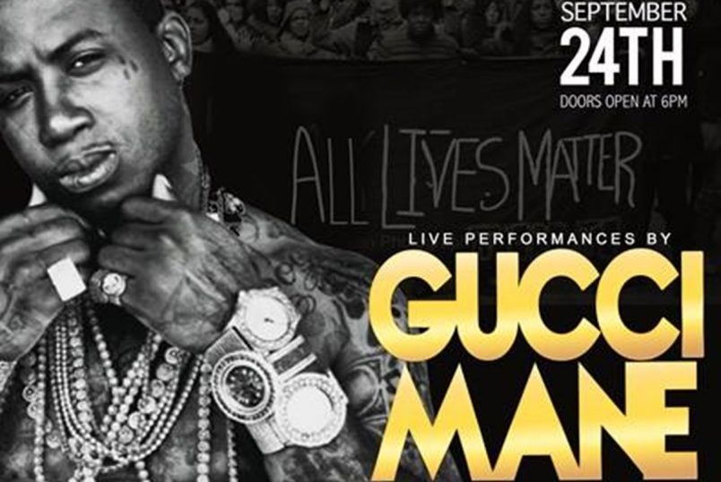 Gucci Mane Headlines Stop The Violence Concert In MS