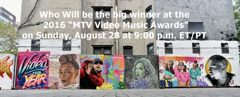 Beyonce Leads nominations at the 2016 MTV Video Music Awards