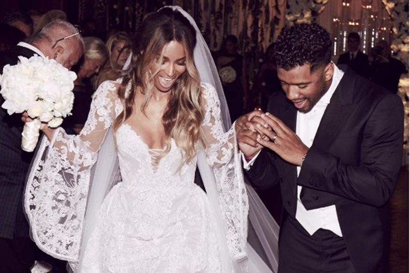 Ciara + Russell Wilson Married; Is Future Plotting