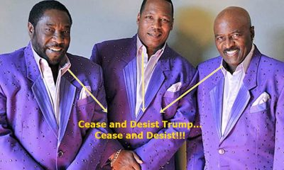 The O'Jays Send Cease and Desist To Donald Trump
