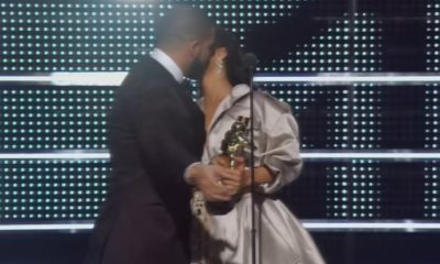 The Kiss That Has Everyone Talking About Drake