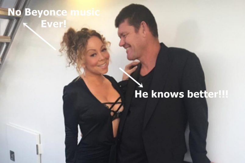 Mariah Carey Proves She's Got Beef with Beyonce