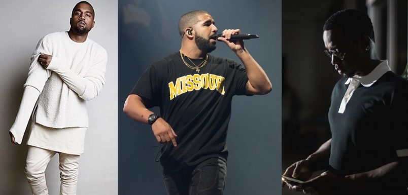 Kanye West Drake Puff Daddy
