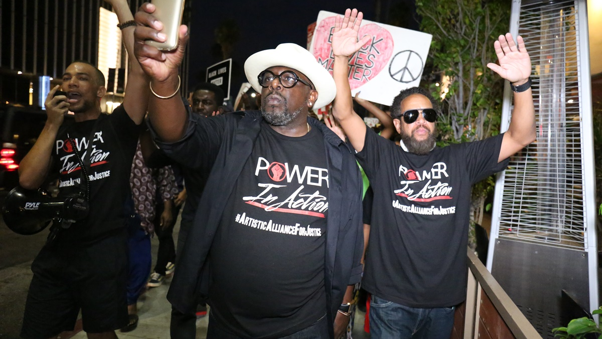 Cedric the Entertainer Call-to-Action March + Rally for Social Justice
