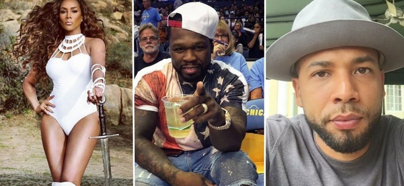 Vivica A. Fox + Jussie Smollett Tag Team 50 Cent