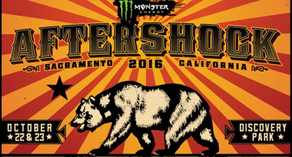 2016 Monster Energy Aftershock Festival Set Times Revealed