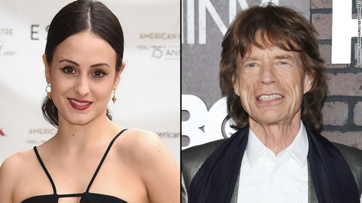 Mick Jagger Welcomes Baby no. 8