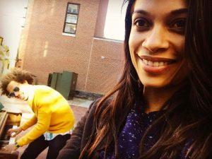 Eric Andre + Rosario Dawson Aren't Prankin'; They Dating