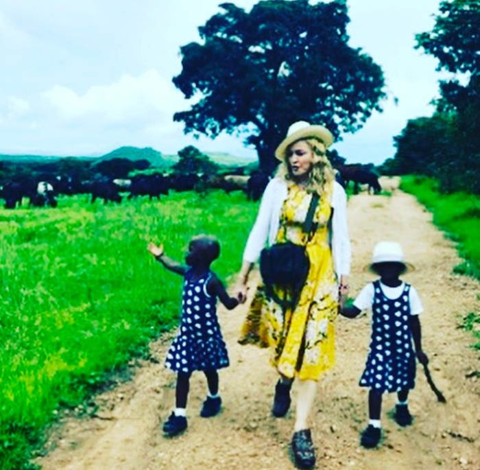 Madonna Is Twining! She Confirms Twin Girls From Malawi Adoption