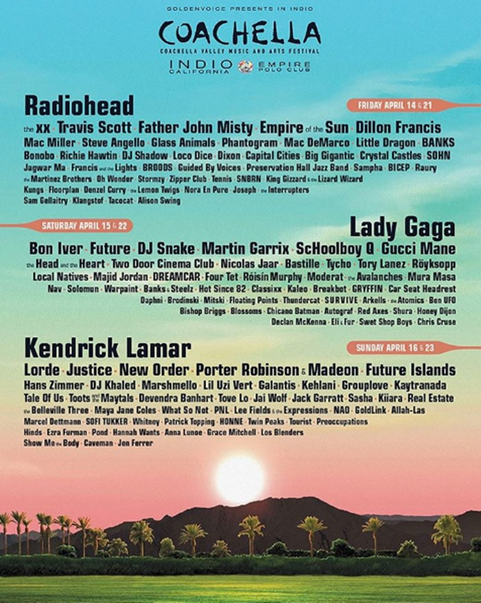 It's Official Lady Gaga Headlining Coachella