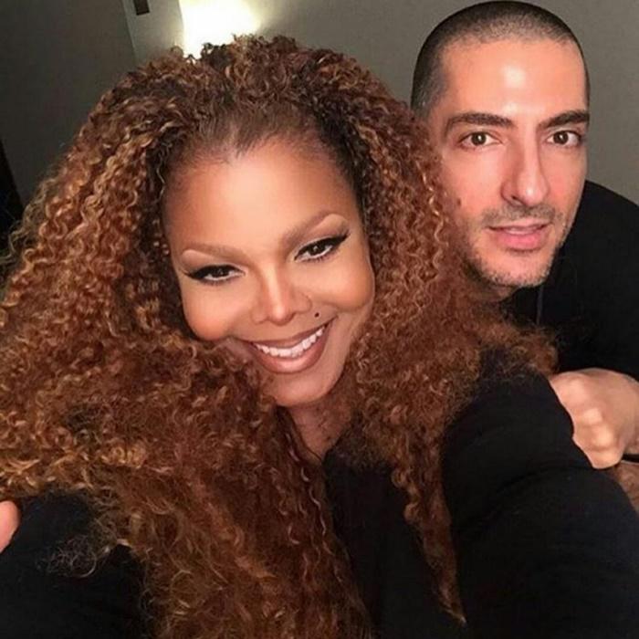 Janet Jackson and Wissam Al Mana SPLIT