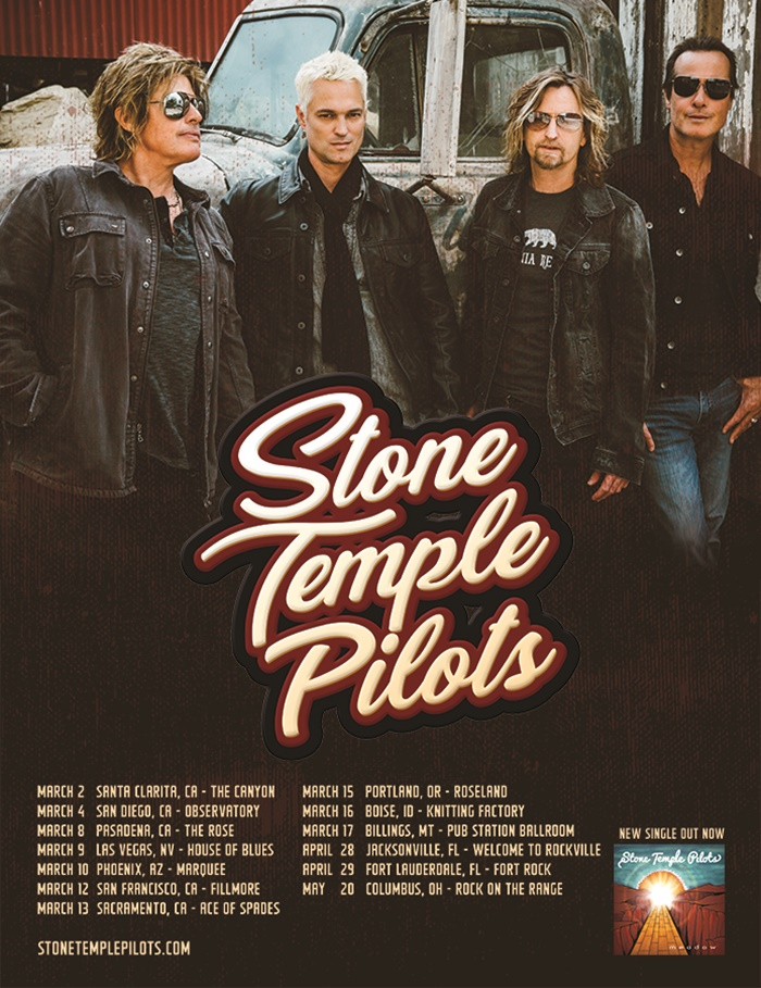 Stone Temple Pilots Back with New Singer Jeff Gutt