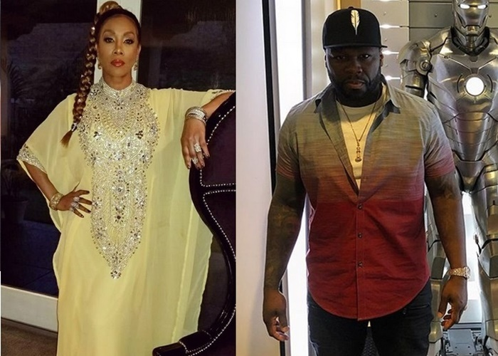 50 Cent Sex Still has Vivica Fox Spilling Tea; He's NOT Happy