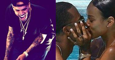 Chris Brown Can't Handle Karrueche Tran Being with Victor Cruz