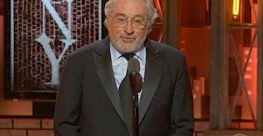 Robert DeNiro Has Some Choice Words for Trump at Tony Awards