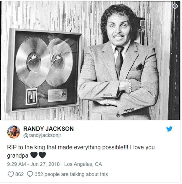 Michael's Father Joe Jackson Loses Battle Against Cancer