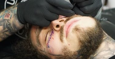 Post Malone New Face Tattoo Social Media Weighs In