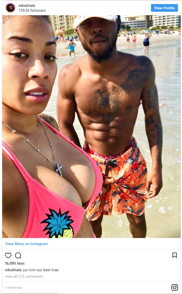 Keyshia Cole Pregnant by 22-Year-Old Rapper Niko Khale