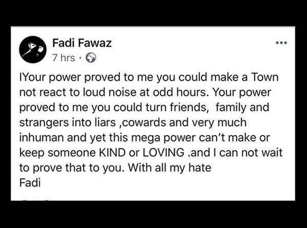 George Michael Will: Fadi Fawaz Left NOTHING