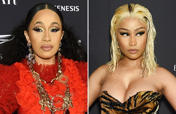 Cardi B Gets Real Unlady Like with Nicki Minaj