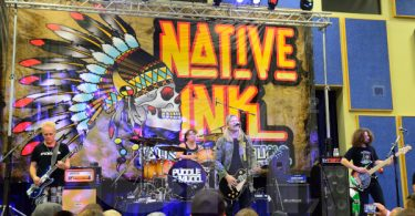Puddle of Mudd Native Ink Expo in Loleta, CA.