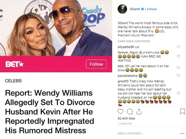 Cherie Johnson Spills Tea on Wendy Williams Alleged Cheating Hubby